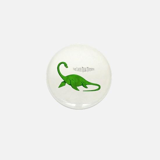 Loch Ness Monster Mini Button