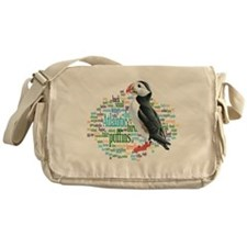 Puffins Messenger Bag