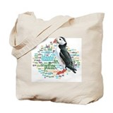 Atlantic puffin Canvas Tote Bag