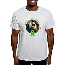 Kickin NonHodgkin's Lymphoma T-Shirt