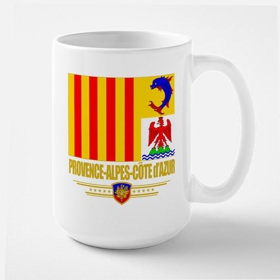 Provence-Alpes-Cote d'Azur Large Mug