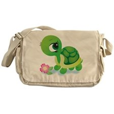 Toshi the Turtle Messenger Bag