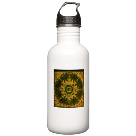 Wind Rose Stainless Water Bottle 1.0L
