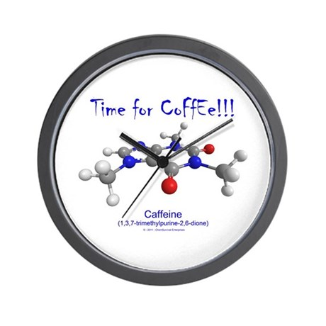 Time for Coffee!!! Wall Clock