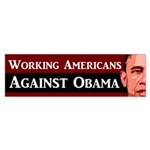 Working Americans Against Obama sticker