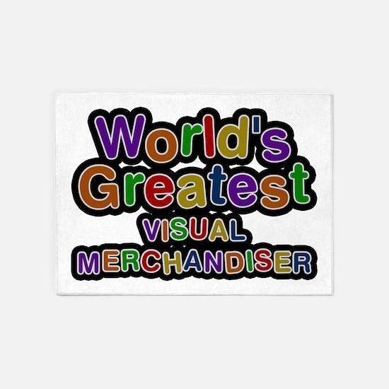 World's Greatest VISUAL MERCHANDISER 5'x7' Area Ru