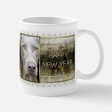New Year - Golden Elegance - Weimie Mug