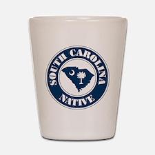 South Carolina Native Shot Glass