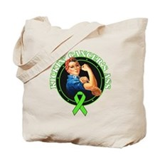 Kickin' Lymphoma Cancer's Ass Tote Bag