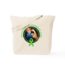 Kickin' Lymphoma Cancer's Ass Tote Bag