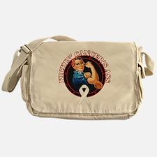 Kickin' Lung Cancer's Ass Messenger Bag