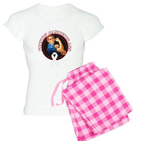 Kickin' Lung Cancer's Ass Women's Light Pajamas