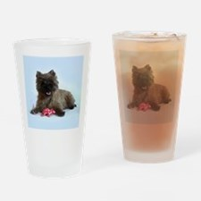 Cairn Terrier Drinking Glass