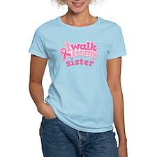 Breast Cancer Sister Walk T-Shirt