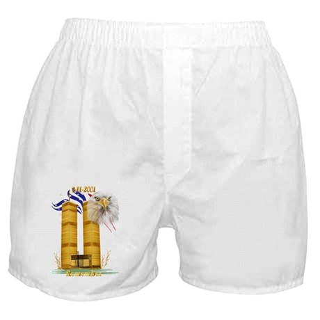 Gold Twin Towers, Eagle n Fla Boxer Shorts