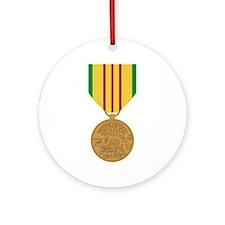 Vietnam Service Ornament (Round)