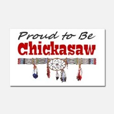 Proud to be Chickasaw Car Magnet 20 x 12