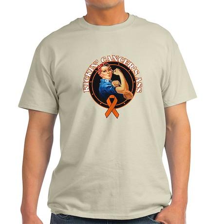 Kickin' Kidney Cancer's Ass Light T-Shirt