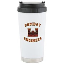 US Army Combat Engineer Castl Travel Mug