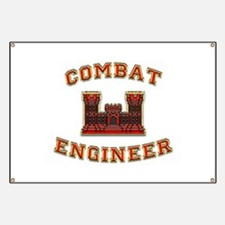 US Army Combat Engineer Castl Banner