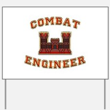 US Army Combat Engineer Castl Yard Sign