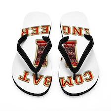 US Army Combat Engineer Castl Flip Flops