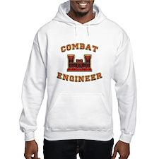 US Army Combat Engineer Castl Hoodie