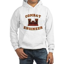 US Army Combat Engineer Castl Jumper Hoody