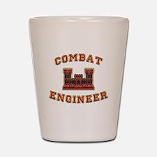 US Army Combat Engineer Castl Shot Glass