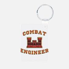 US Army Combat Engineer Castl Keychains