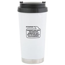 Accountant Bubble 1 Travel Mug
