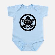 Encircled mandarin Infant Bodysuit