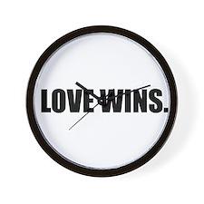 Unique Faith hope and love Wall Clock