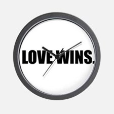 Cute Love wins Wall Clock