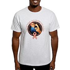 Kickin Endometrial Cancer Ass T-Shirt