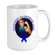 Kickin' Colon Cancer's Ass Mug