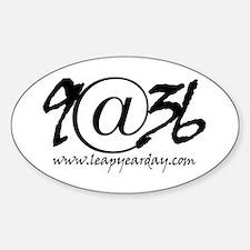 9@36 Sticker (Oval)
