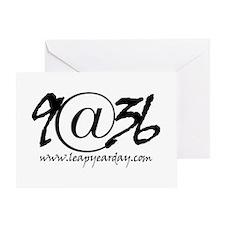 9@36 Greeting Card
