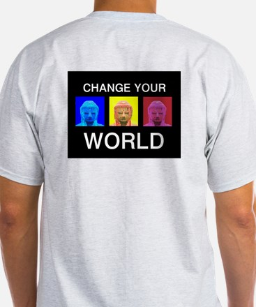 Change your World Ash Grey T-Shirt