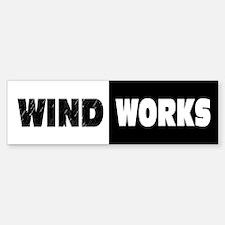 Wind Works: Bumper Bumper Sticker