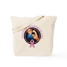 Kickin Breast Cancer's Ass Tote Bag