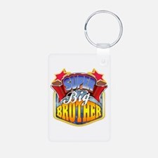 Super Big Brother Aluminum Photo Keychain