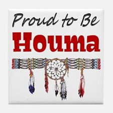 Proud to be Houma Tile Coaster