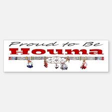 Proud to be Houma Bumper Bumper Sticker