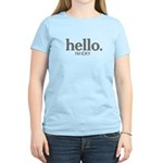 Hello I'm icky Women's Light T-Shirt