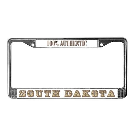 South Dakota 100% Authentic License Plate Frame