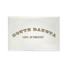 South Dakota 100% Authentic Rectangle Magnet