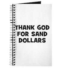 Thank God For Sand Dollars Journal