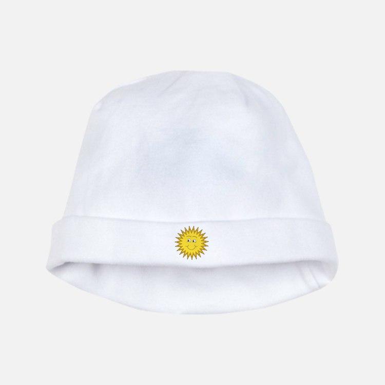 Happy Sun in Summer baby hat