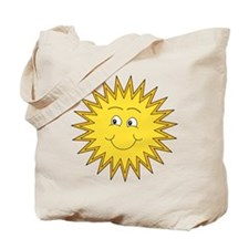 Happy Sun in Summer Tote Bag